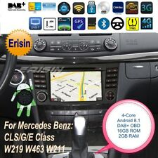 "Android 8.1 DAB+Mercedes Autoradio CLS G E Class W219 W463 W211 DVR TNT 7""3880FR"