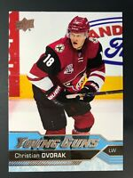 2016-17 Christian Dvorak UD Young Guns Rookie