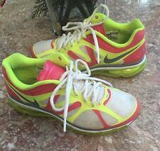 Nike Air Max 2012 Multi-Color Platinum Volt  Running Shoe Sz 6.5Y 488124-136