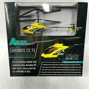 Ares Nano Micro Chronos CX-75 Ready To Fly Helicopter New