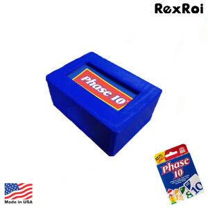 Phase 10 Card Box Holder