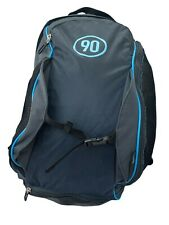 New NIKE T90 Total 90 Football BACKPACK Rucksack Bag Charcoal Grey and Blue