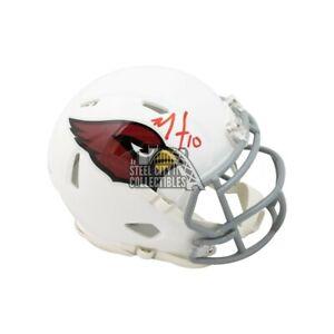 DeAndre Hopkins Autographed Arizona Cardinals Speed Mini Football Helmet BAS COA