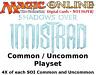 MTGO Magic Online SOI Shadows over Innistrad Playset 880 Cards 4 Common/Uncommon