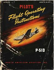 PDF 14 WWII P-51 MUSTANG FIGHTER AAF MERLIN MANUALS  - DVD-ROM