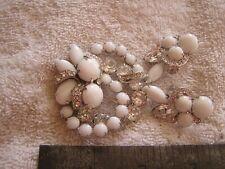 Vintage Stunning Eisenberg Rhinestone Set Earrings Brooch Pin