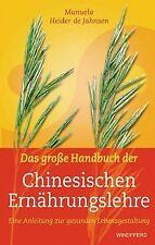 Das große Handbuch der Chinesischen Ernährungslehre: Ein... | Buch | Zustand gut