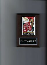 JULIO CESAR CHAVEZ vs JOSE LUIS RAMIREZ POSTER PLAQUE BOXING PHOTO PLAQUE