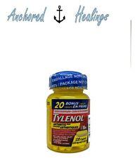 Tylenol Arthritis Pain Acetaminophen 650mg 100 Caplets BONUS 20 EXP. 11/2020