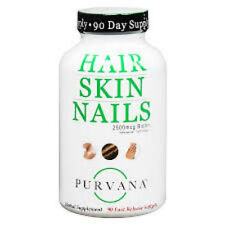 Purvana Hair Skin And Nails - 90  count  Soft gels