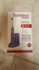 Soniclean Pro 3000 Electric Toothbrush w/12 Brush Heads (New in Box