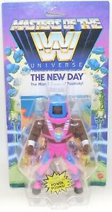 Masters of the WWE Universe THE NEW DAY Action Figure NEW Mattel 2020 Man-E-Face