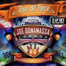 JOE BONAMASSA TOUR DE FORCE TO HAMMERSMITH APOLLO LP VINYL 33RPM NEW
