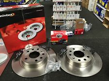 JEEP COMMANDER GRAND CHEROKEE  REAR BRAKE DISCS BRAKE PADS SOLID