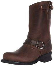 New in Box FRYE Women's Engineer 12R Boot Gaucho Brown Motorcyle Boot Size 11