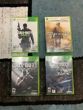 Call Of Duty Black Ops 2, MW 2&3, Ghosts Microsoft Xbox 360 w/ Cases