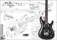 Ibanez Satriani® Electric Guitar Plan