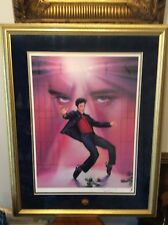 Elvis Limited Edition Lithogram The Jailhouse Rock Signed Artist With Certficate