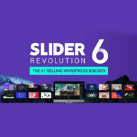 Slider Revolution Responsive WordPress Plugin, 400+ Templates - Lifetime Update