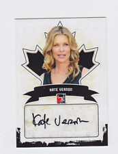 2011 In the Game Canadiana Autographs KATE VERNON Auto #A-KV2