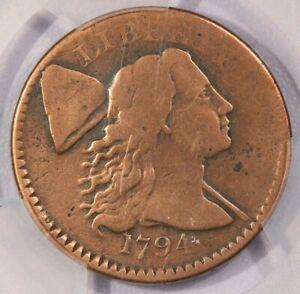 1794-P 1974 Liberty Cap Cent PCGS Genuine VF Detail
