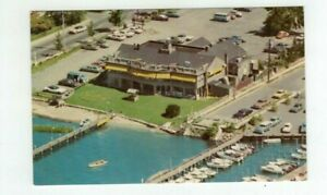 NJ Rumson New Jersey vintage post card -  Fisherman's Wharf Restaurant