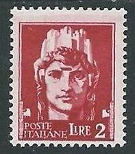 1929-42 REGNO IMPERIALE EFFIGIE 2 LIRE MH * - IM07-6