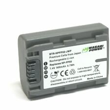 Wasabi Power Battery for Sony NP-FP50, NP-FP30 (900mAh)