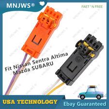 2 Airbag Clock Spring Wire Plug Connector For Nissan Sentra Altima Mazda SUBARU