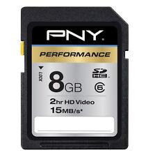 PNY Professional 8GB SDHC Card - OEM - P-SDHC8G6-GE