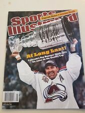 Ray Bourque signed Sports illustrated June 18, 2001 Stanley Cup At Long Last