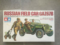Tamiya 3521 1/35 Russian Field Car GAZ67B, Brand New, Factory Sealed, Japan