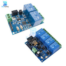 ESP8266 ESP-01 5V/12V 2/4- Channel WiFi Relay Module For IOT Smart Home APP