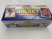 1990-91 SCORE NHL HOCKEY PREMIER FACTORY SEALED AMERICAN SET FREE SHIPPING