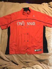 Cincinnati Bearcats Button Up Basketball Jacket Jordan Brand Never Worn Sz XXL