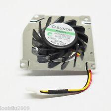 10pcs Sunon GC054007VH-A 13.B2291.F.GN 40x40x7mm 5V 1.0W  13 Blades 3pin CPU Fan