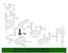 Genuine Volkswagen Rear Support Mount Bolt N-911-671-01