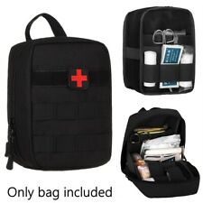 Tactical First Aid Kit Survival Molle Military Medical Bag Utility EMT Pouch