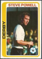 TOPPS 1979 FOOTBALLERS #012-DERBY COUNTY-STEVE POWELL