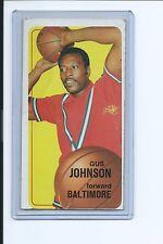 1970-71 TOPPS BASKETBALL - GUS JOHNSON - HOF - CARD # 92 - G 2.0