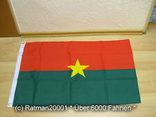 Fahne Flagge Burkina Faso - 60 x 90 cm
