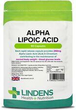 Lindens acide Alpha-lipoïque 250mg 3-paquet 270 comprimes