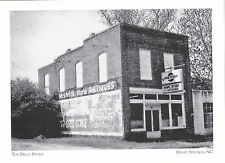 "*Postcard-""The Drug Store"" (Avent Ferry Rd/Center St) *Holly Springs NC (#207)"