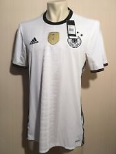 Germany Euro 2016 Home Soccer Adidas Jersey Mens Size X-Large Gotze and Reus era
