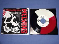 "The Melvins / Unsane Split 7"" Vinyl Noise Amphetamine Reptile Records Haze XXL"