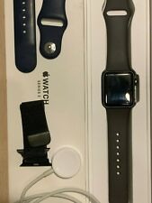 Apple Watch Series 3 38mm Space Gray Aluminium Case Sport Band in Good Condition