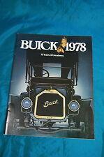 1978 Buick Dealer Brochure Skyhawk Skylark