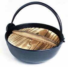 Japanese Shabu Shabu Pot Sukiyaki Iron Nabe 7in 817-17 S-1803