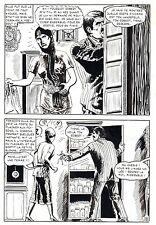 LE VENTRILOQUE DE L'AU DELA (PLEYERS) PLANCHE ORIGINALE PAGE 78