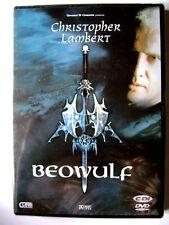 Dvd Beowulf con Christopher Lambert e Rhona Mitra 1999 Nuovo